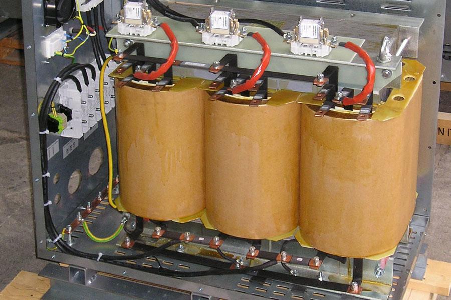 100-KVA Autotransformateur triphasé