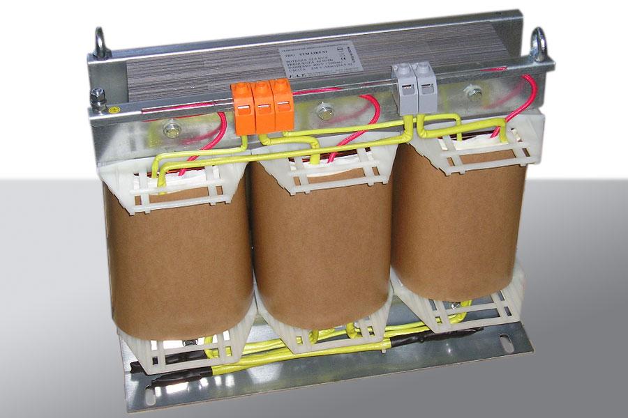 12500-VA Transformador trimonofásico