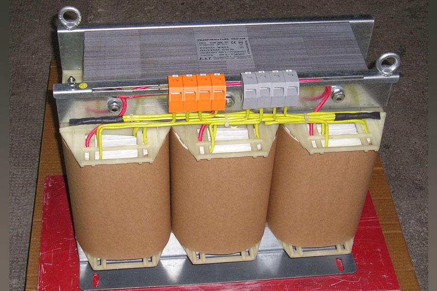 30-KVA Autotrasformatore trifase