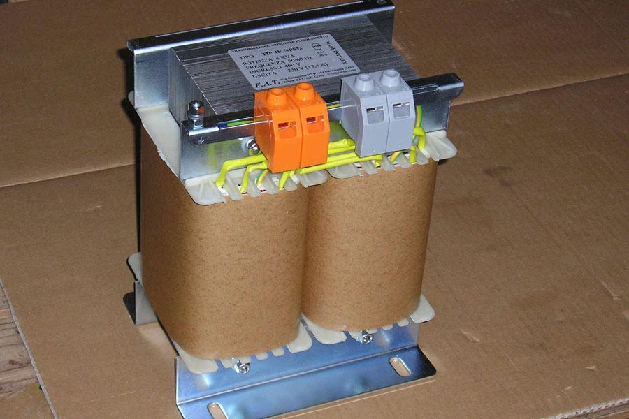 4000 VA - Single phase transformer