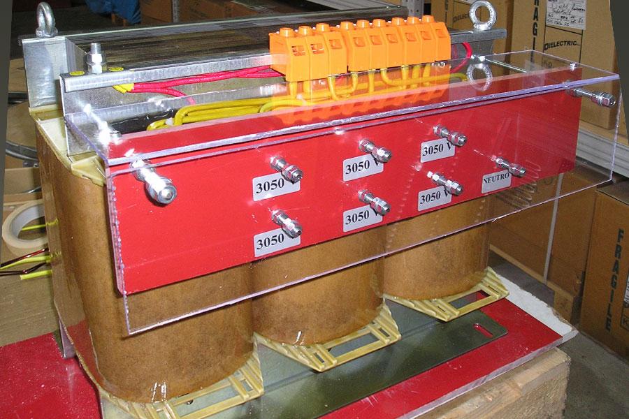 5-KVA Autotransformador trifásico