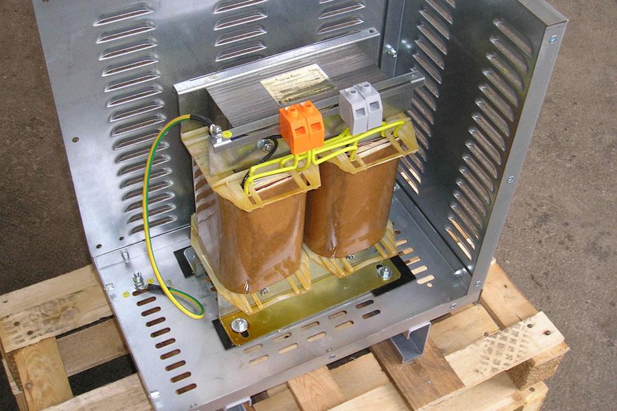 6000 VA - Single phase transformer