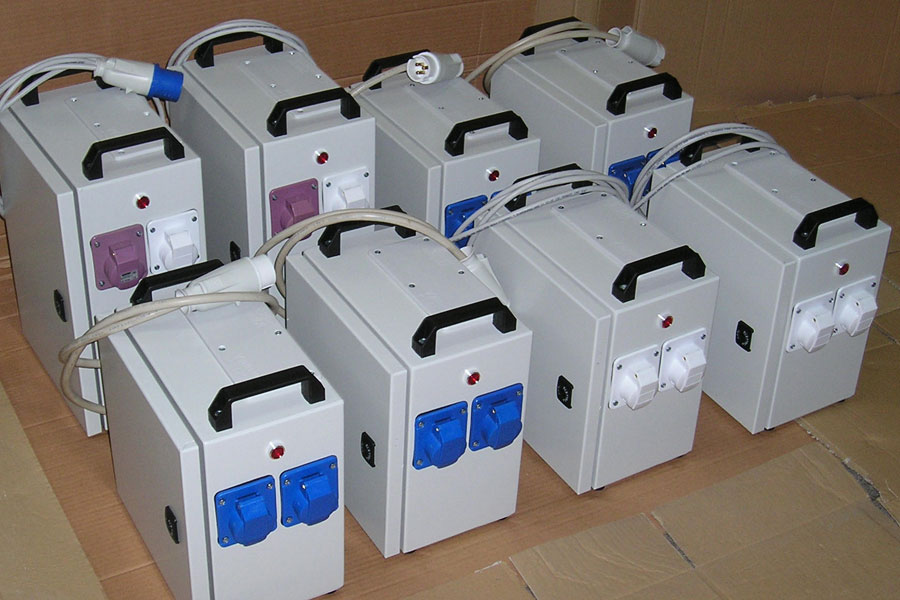 Boxed and portable transformers