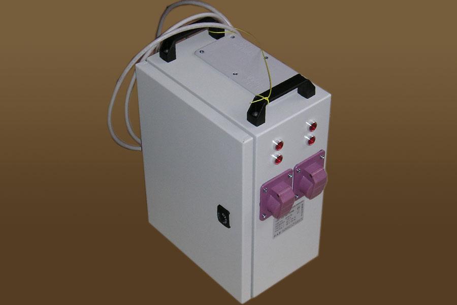 Low voltage boxed transformer