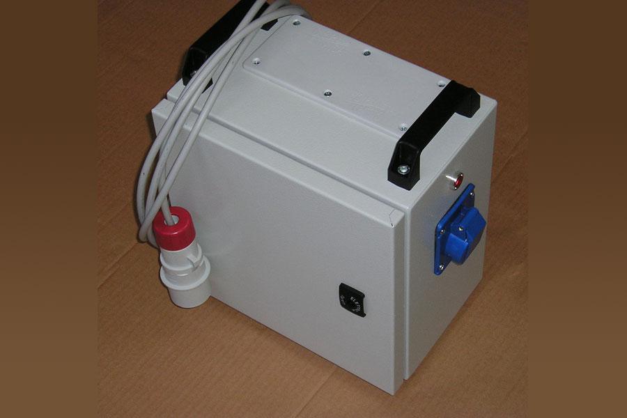 Pequeño transformador portátil