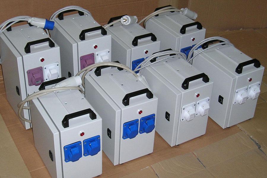 petits transformateurs monophasés portables
