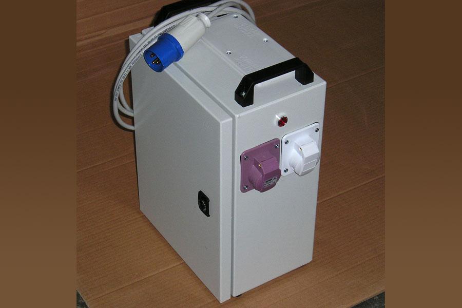 transformador baja tensión portátil