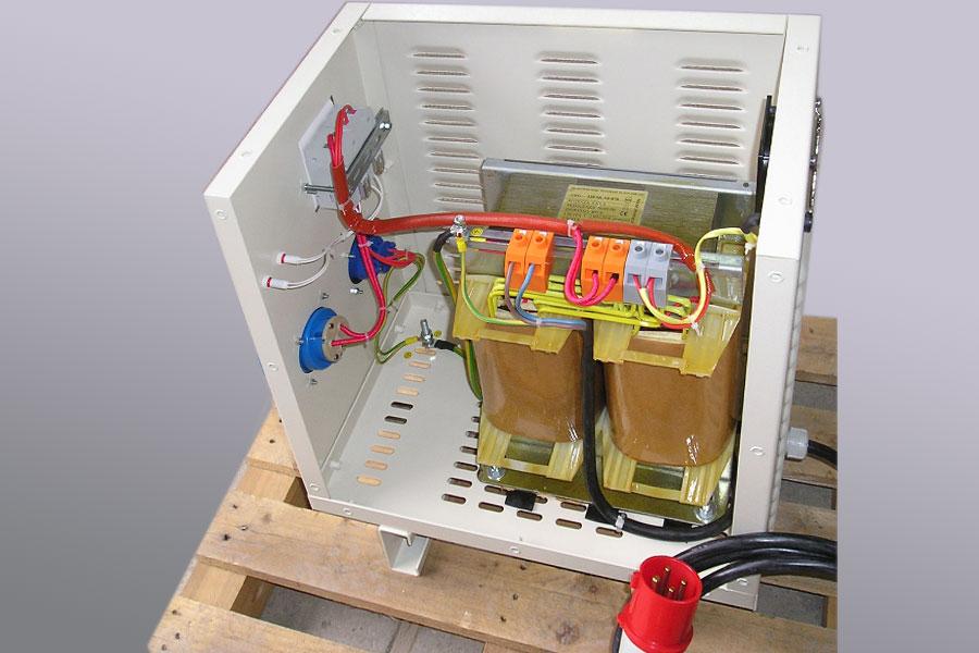 transformateur avec ventilateurs de refroidissement